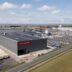 Fabriekshal luchtfoto kopiëren