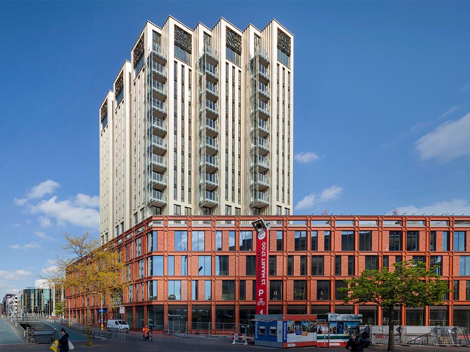 Lorentz, Woningbouw, Leiden, Neutelings Riedijk architecten